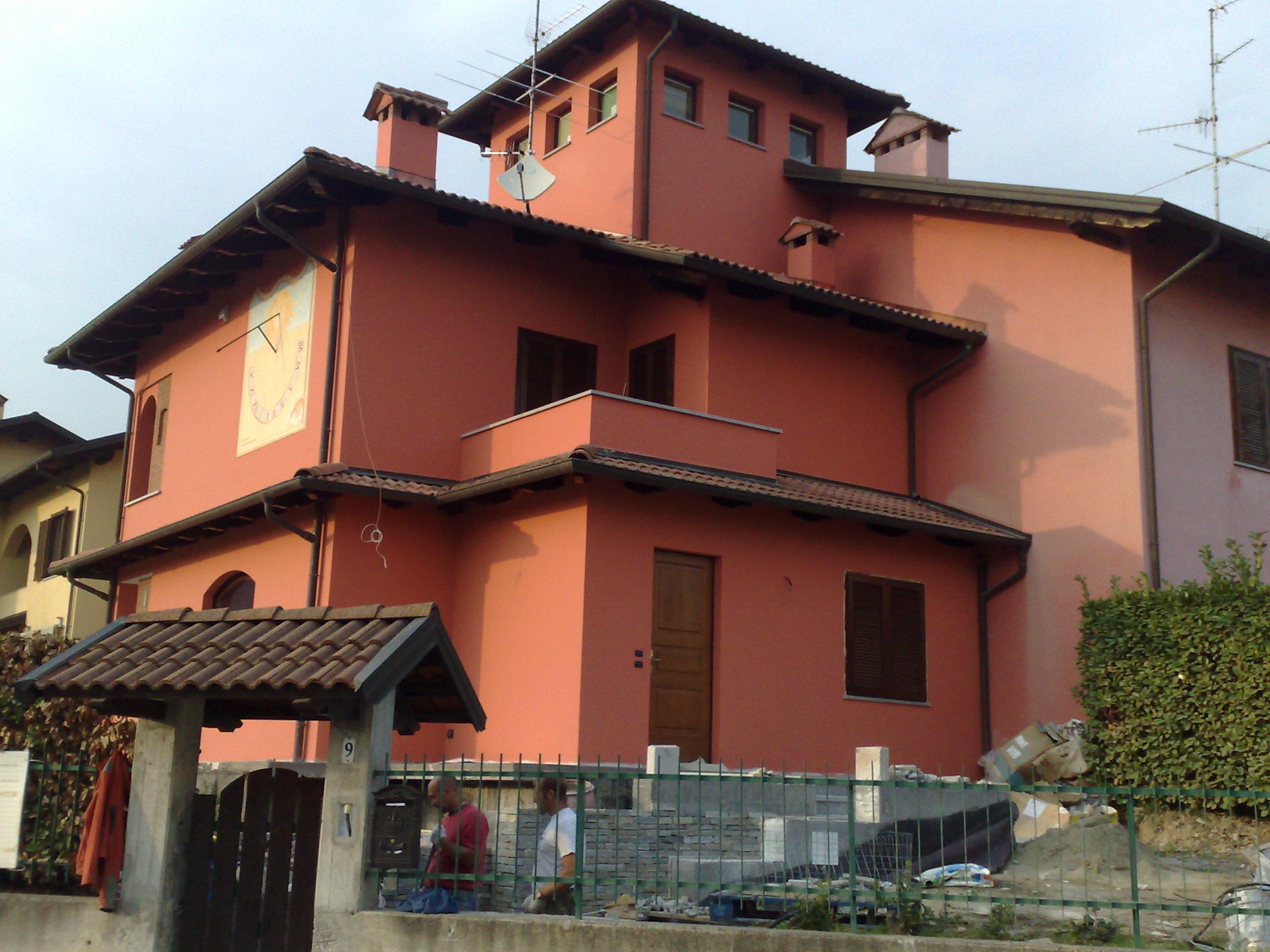 Trendy colori per pareti esterne casa meridiane gli - Esterno casa colore ...
